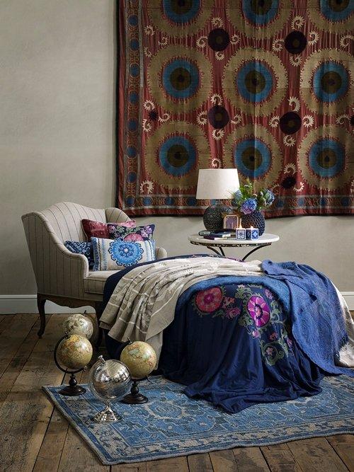 Фотография: Мебель и свет в стиле Восточный, Декор интерьера, Квартира, Дом, Декор дома, Текстиль, Zara Home – фото на INMYROOM