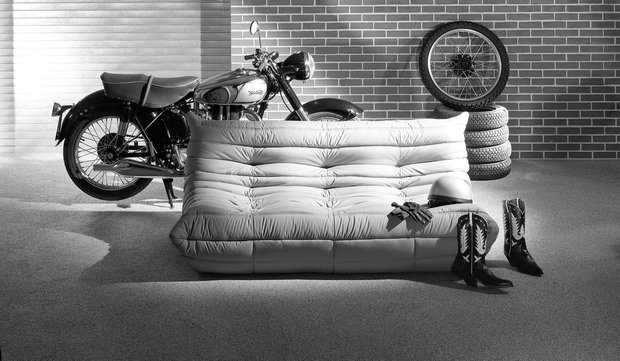 Фотография:  в стиле Современный, Индустрия, Новости, Мягкая мебель, Диван, Ligne Roset – фото на INMYROOM