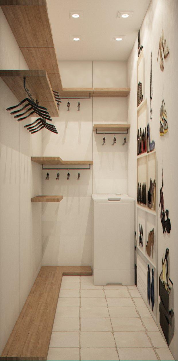 Фотография: Гардеробная в стиле Прованс и Кантри, Квартира, Gramercy Home, Дома и квартиры, IKEA, Проект недели – фото на INMYROOM