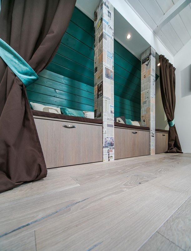 Фотография: Гостиная в стиле Прованс и Кантри, Современный, Интерьер комнат, Дача, Дачный ответ, Мансарда – фото на INMYROOM