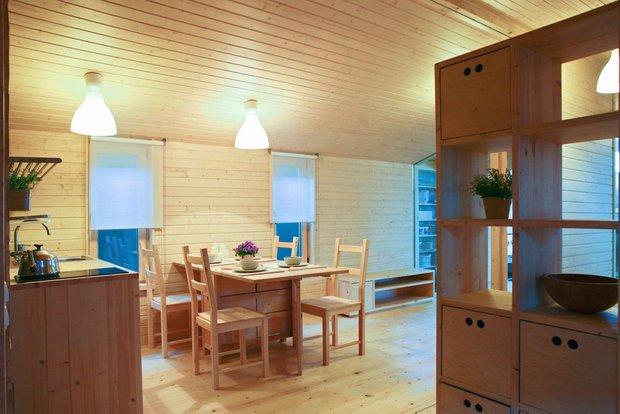 Фотография: Кухня и столовая в стиле Эко, Дом, Архитектура – фото на INMYROOM