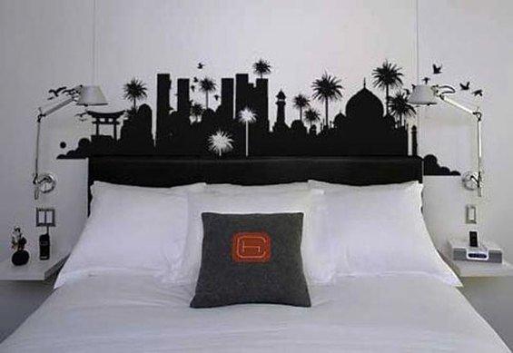 Фотография: Спальня в стиле Современный, Декор интерьера, DIY, Мебель и свет – фото на INMYROOM