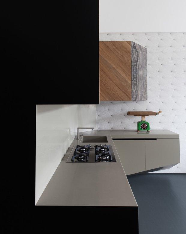 Фотография: Кухня и столовая в стиле Современный, Малогабаритная квартира, Квартира, Италия, Дома и квартиры – фото на INMYROOM