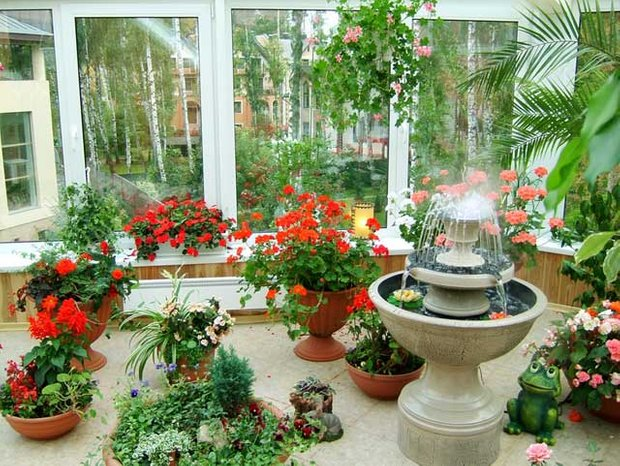 Фотография: Ландшафт в стиле , Декор интерьера, Декор дома, Советы, Маргарита Алексеева, Зимний сад – фото на INMYROOM