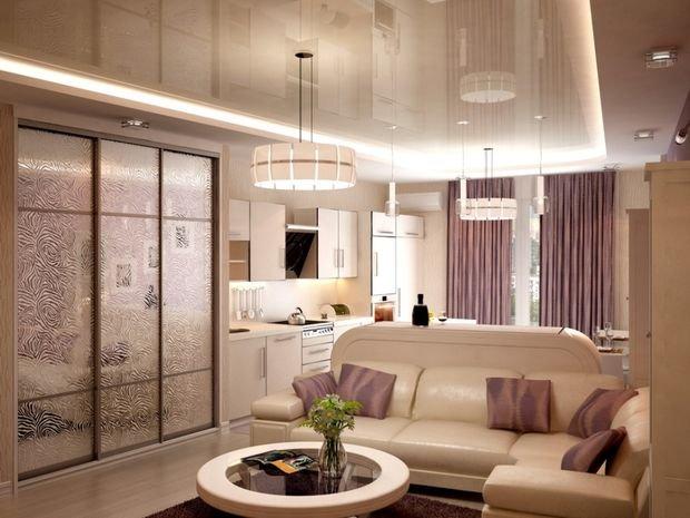 Фотография: Кухня и столовая в стиле Минимализм, Декор интерьера, Малогабаритная квартира, Квартира, Студия, Планировки, Мебель и свет – фото на INMYROOM