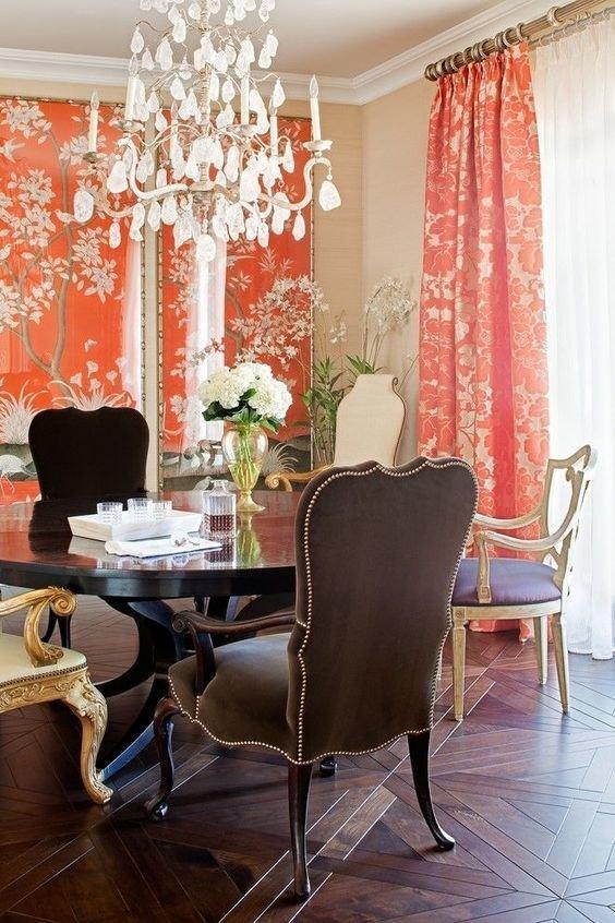 Фотография: Кухня и столовая в стиле Классический, Советы, Красный, Виктория Тарасова – фото на INMYROOM