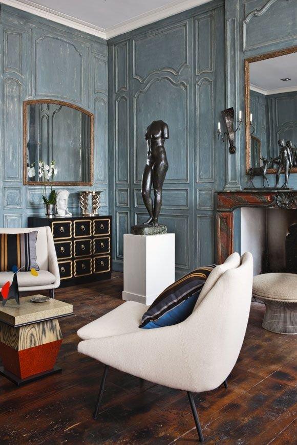 Фотография: Гостиная в стиле Эклектика, Классический, Стиль жизни, Советы – фото на INMYROOM