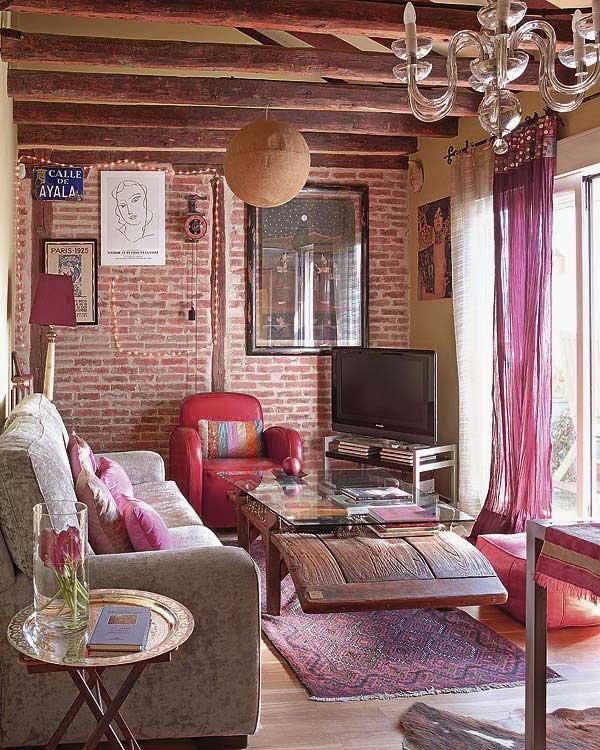 Фотография: Гостиная в стиле Прованс и Кантри, Декор интерьера, Текстиль, Декор, Декор дома, Пэчворк – фото на INMYROOM