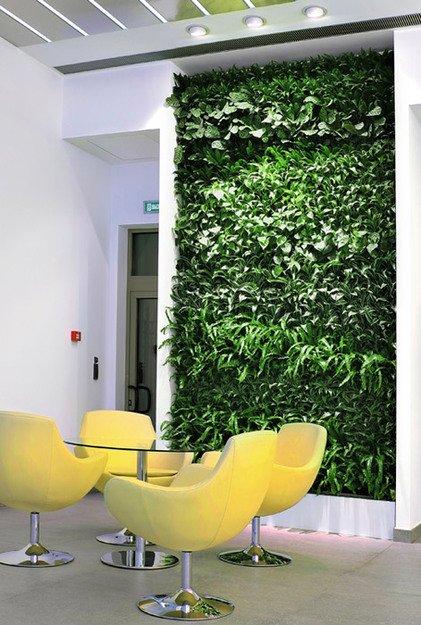 Фотография: Декор в стиле Эко, Флористика, Стиль жизни, Фитостены – фото на INMYROOM