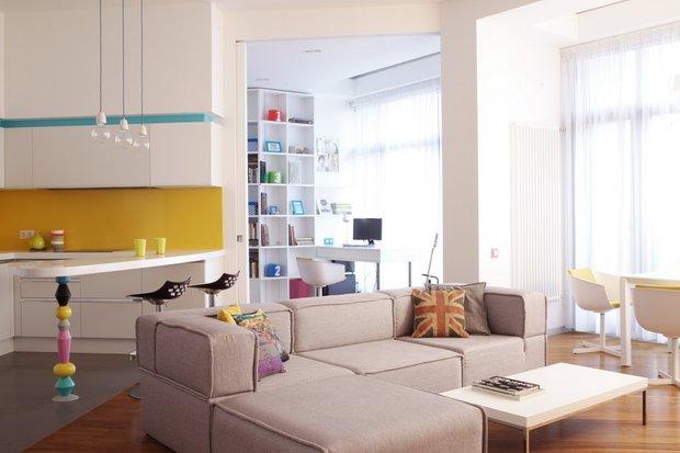Фотография: Гостиная в стиле Современный, Индустрия, Люди, Международная Школа Дизайна – фото на INMYROOM