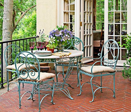 Фотография: Балкон, Терраса в стиле Прованс и Кантри, Декор интерьера, Декор дома, Прованс – фото на INMYROOM
