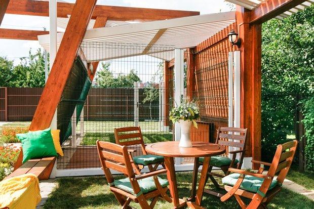 Фотография: Балкон, Терраса в стиле Современный, Ландшафт, Стиль жизни, Дача, Дачный ответ – фото на INMYROOM