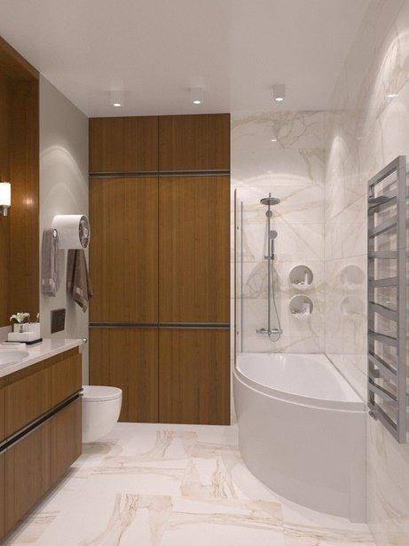 Фотография: Ванная в стиле Современный, Советы, маленькая ванная – фото на INMYROOM