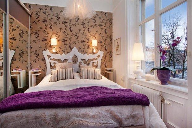 Фотография: Спальня в стиле Скандинавский, Малогабаритная квартира, Квартира, Дома и квартиры, Минимализм – фото на INMYROOM