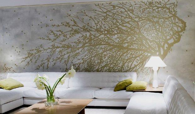 Фотография: Гостиная в стиле Современный, Декор интерьера, Индустрия, Новости, Обои – фото на INMYROOM