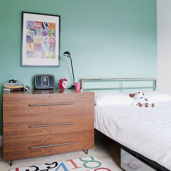 Фотография: Спальня в стиле Современный, Детская, Интерьер комнат – фото на INMYROOM