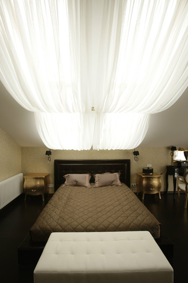 Фотография: Спальня в стиле Классический, Восточный, Ремонт на практике – фото на INMYROOM