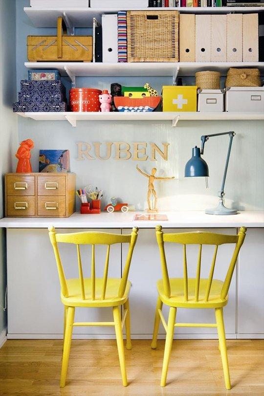 Фотография: Офис в стиле Прованс и Кантри, Декор интерьера, Дизайн интерьера, Цвет в интерьере, Желтый – фото на INMYROOM