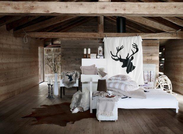Фотография: Спальня в стиле Прованс и Кантри, Скандинавский, Современный, Индустрия, Новости, IKEA, Посуда, Подушки, Свечи, Шале, Плед – фото на INMYROOM