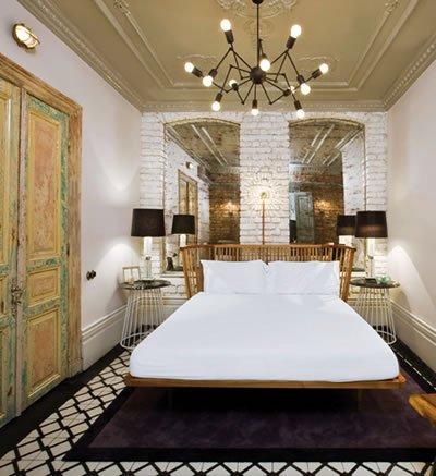 Фотография: Спальня в стиле Лофт, Декор интерьера, Декор дома, Плитка – фото на INMYROOM
