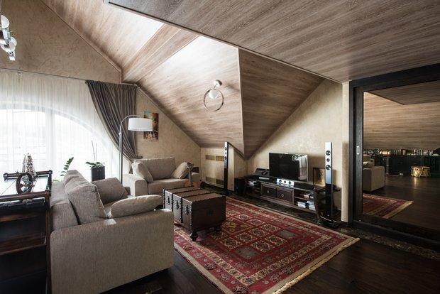 Фотография: Гостиная в стиле , Декор интерьера, Текстиль, Советы – фото на INMYROOM