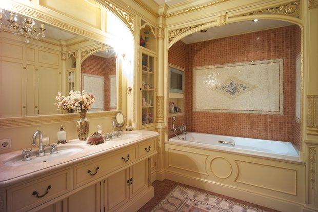 Фотография: Ванная в стиле Классический, Современный, Декор интерьера, Флористика, Декор, Декор дома, Марат Ка, Зимний сад – фото на InMyRoom.ru