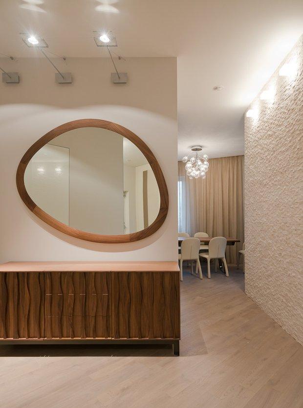 Фотография: Прихожая в стиле Минимализм, Классический, Квартира, Проект недели, Москва, Бежевый – фото на INMYROOM