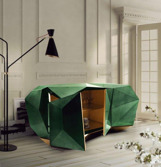 Фотография: Мебель и свет в стиле Современный, Эклектика, Гостиная, Интерьер комнат, Lola Glamour, Комод – фото на INMYROOM
