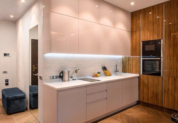 Фотография: Кухня и столовая в стиле Современный, Гостиная, Спальня, Декор интерьера, Студия, энциклодпедия_малогабаритка – фото на INMYROOM