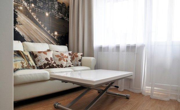 Фотография: Гостиная в стиле Современный, Квартира, Дома и квартиры, Советы – фото на INMYROOM