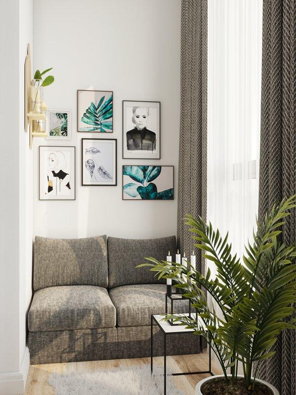 Фотография: Балкон в стиле Современный, Советы, Перепланировка, Марина Лаптева – фото на INMYROOM