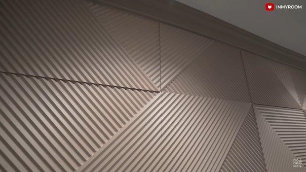 Фотография:  в стиле , Советы, акцентная стена, акцентная стена в интерьере, молдинги на стене, гипсовые панели на стене – фото на INMYROOM
