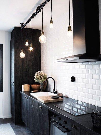 Фотография: Кухня и столовая в стиле Лофт, Скандинавский, Декор интерьера, Интерьер комнат, Плитка – фото на INMYROOM