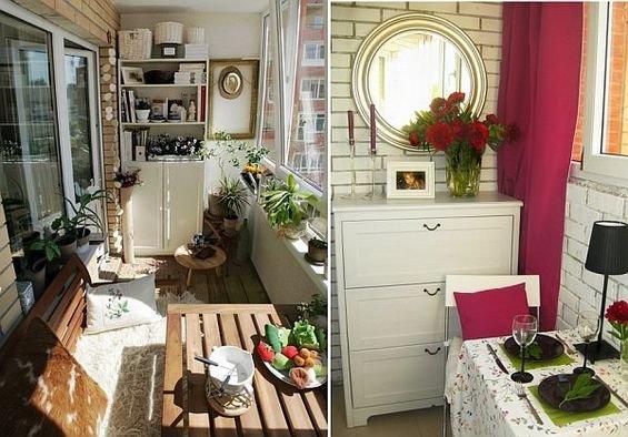 Фотография: Флористика в стиле , Балкон, Декор интерьера, Квартира, Интерьер комнат – фото на INMYROOM
