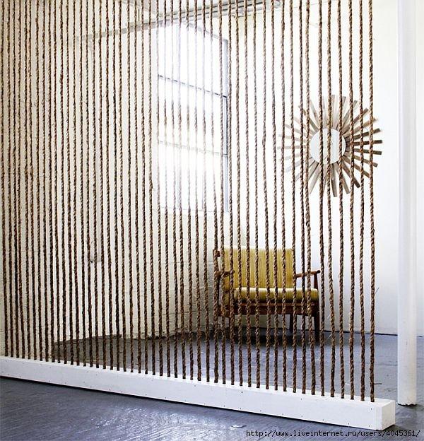 Фотография: Декор в стиле Лофт, DIY, Стиль жизни, Советы, Перегородки – фото на INMYROOM