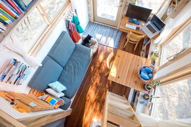 Фотография: Офис в стиле , Дом, Дома и квартиры, Эко, Дом на колесах – фото на INMYROOM