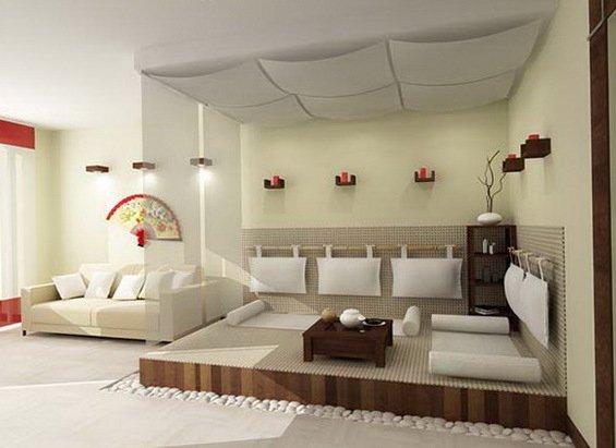 Фотография: Гостиная в стиле Восточный, Декор интерьера, Квартира, Дом, Интерьер комнат – фото на INMYROOM