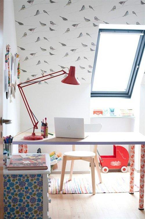 Фотография: Детская в стиле Современный, Дом, Чердак, Мансарда – фото на INMYROOM