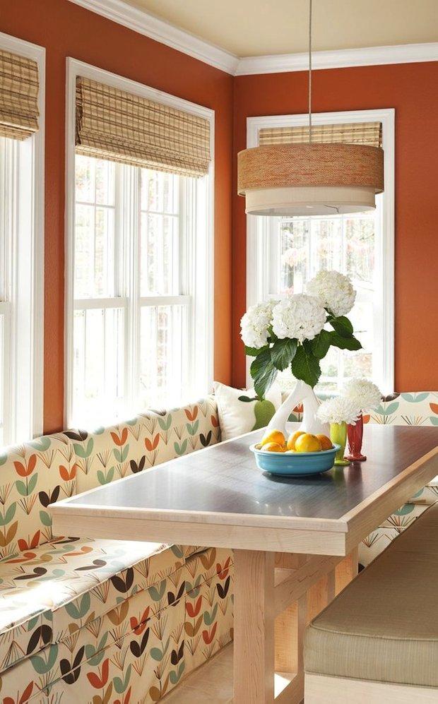 Фотография: Кухня и столовая в стиле Прованс и Кантри, Интерьер комнат, Обеденная зона – фото на INMYROOM