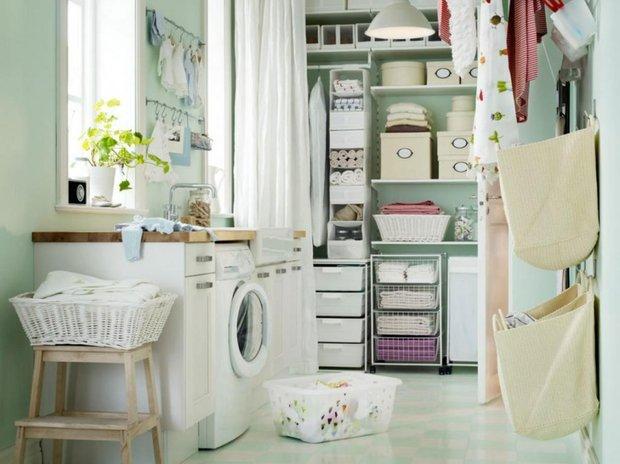 Фотография: Ванная в стиле Современный, Советы, постирочная в квартире – фото на INMYROOM