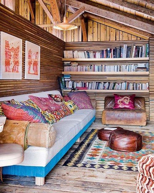 Фотография: Гостиная в стиле Восточный, Эклектика, Кухня и столовая, Дизайн интерьера – фото на INMYROOM
