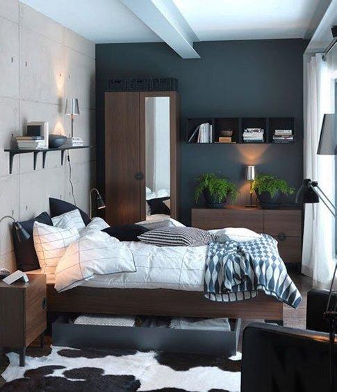 Фотография: Спальня в стиле Лофт, Современный, Декор интерьера, Интерьер комнат, Хрущевка – фото на INMYROOM