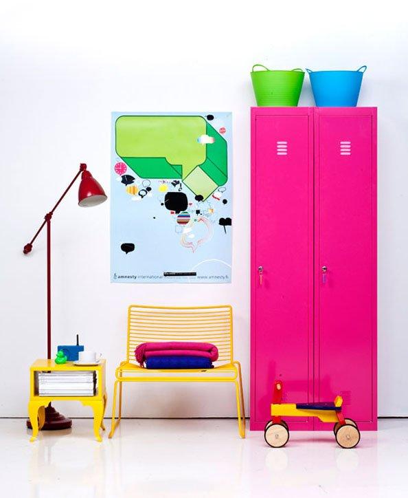 Фотография: Декор в стиле Скандинавский, Современный, Декор интерьера, Дизайн интерьера, Цвет в интерьере, Желтый, Розовый, Оранжевый, Неон – фото на INMYROOM