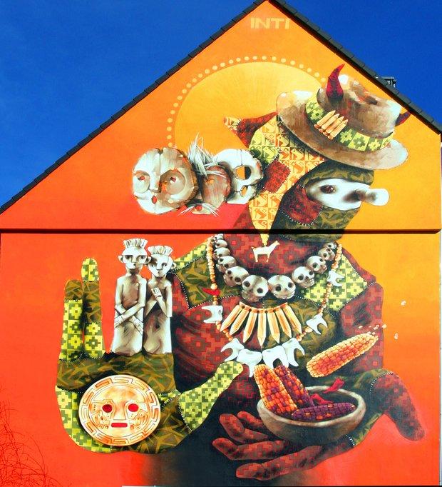 Фотография: Прочее в стиле , Дома и квартиры, Городские места, Роспись, Граффити, Стрит-арт – фото на InMyRoom.ru