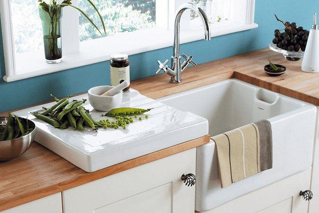 Фотография: Ванная в стиле Классический, Кухня и столовая, Перепланировка, Finish – фото на INMYROOM