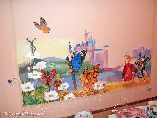 Фотография: Гостиная в стиле Скандинавский, Декор интерьера, DIY, Роспись – фото на INMYROOM