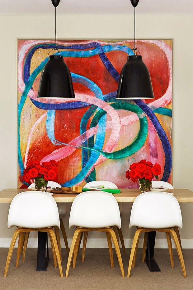 Фотография: Декор в стиле , Декор интерьера, Цвет в интерьере, Текстиль, Картины, Желтый – фото на INMYROOM