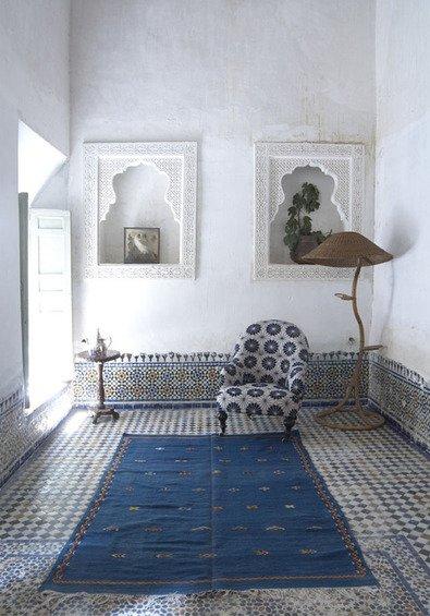Фотография: Мебель и свет в стиле Восточный, Декор интерьера, Дом, Декор дома, Цвет в интерьере – фото на INMYROOM