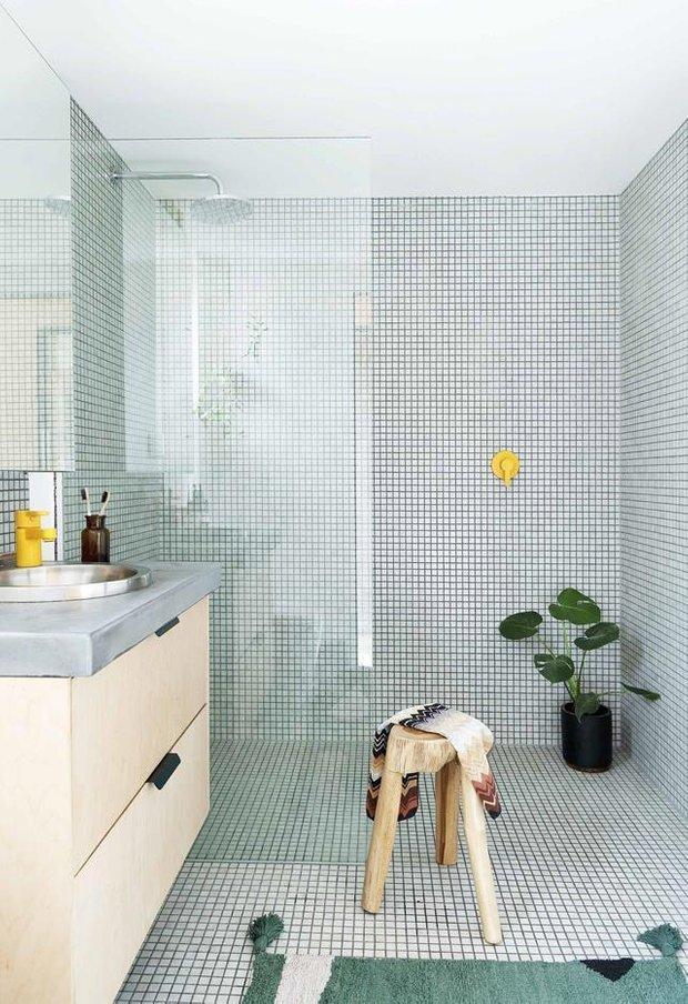 Фотография: Ванная в стиле Минимализм, Австралия, Дом и дача, 60-90 метров – фото на INMYROOM