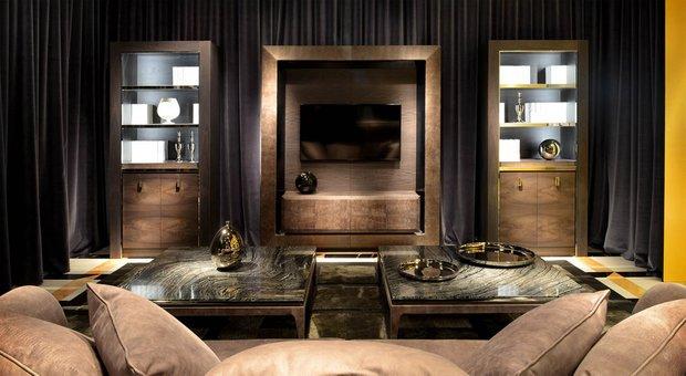 Фотография: Гостиная в стиле Классический, Современный, Индустрия, События, Галерея Neuhaus – фото на INMYROOM